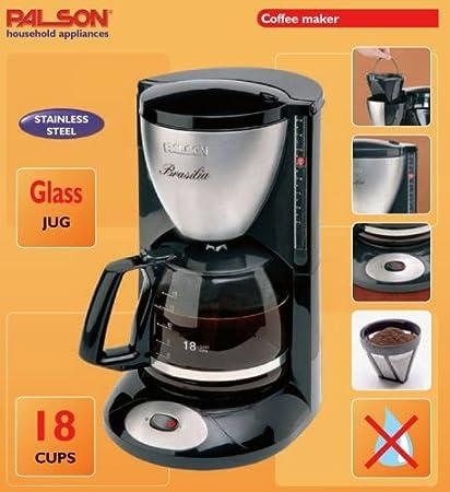 Palson 30520 Brasilia - Máquina de café: Amazon.es: Hogar