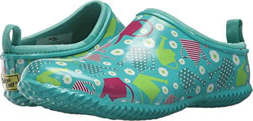 Western Chief Women's Garden Clog, Colorful Canisters, 7 M US
