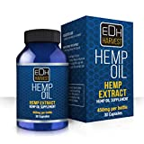 Everyday Hemp Oil Extract Capsules 450mg, Help Anxiety, Chronic Pain, Sleep,Mood,Skin and Hair For Sale