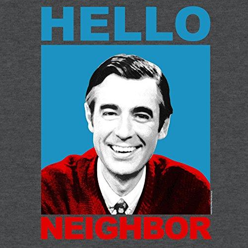 Tee Luv Mister Rogers T-Shirt - Mr  Rogers Hello Neighbor