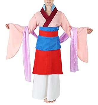 6ff8b07e371 CoolChange Vestido Tradicional Chino, Disfraz de Mulan, tamaño: S:  Amazon.es: Juguetes y juegos