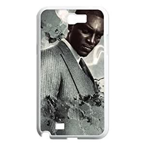 Akon Samsung Galaxy N2 7100 Cell Phone Case White Exquisite gift (SA_699313)