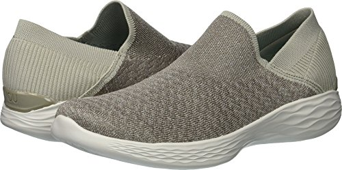 Skechers Performance Women's You-14959 Sneaker,Taupe,6.5 M US