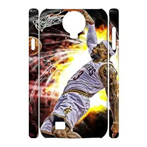 LeBron James TY0096016 3D Art Print Design Phone Back Case Customized Hard Shell Protection SamSung Galaxy S4 I9500