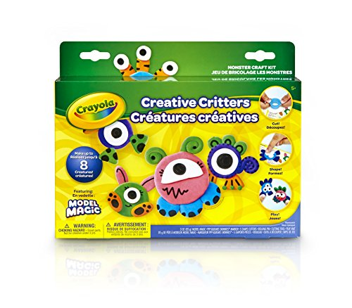Crayola Model Magic Creative Critters Monsters Craft Kit