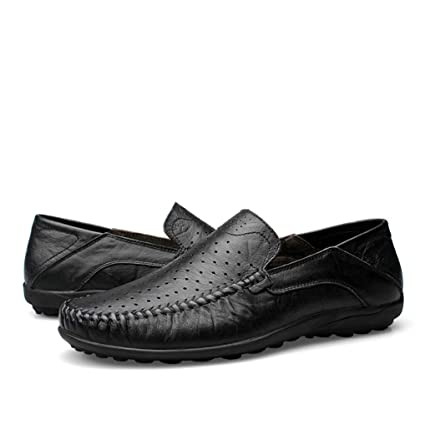 b3f4c7eb68c9 Amazon.com: Starttwin Loafers Shoes Mens Summer Breathable Soft Slip ...
