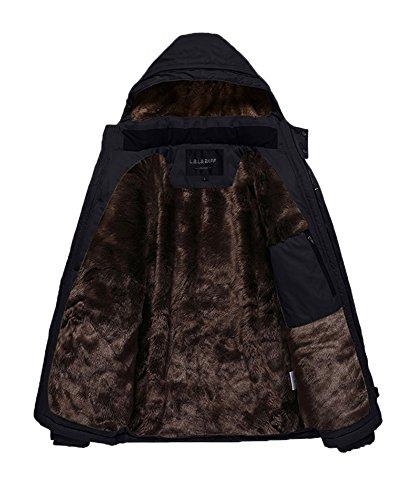 HENGJIA Men's Spring Plus Size Coats Outdoor Practical Wear Resistance Casual Jacket