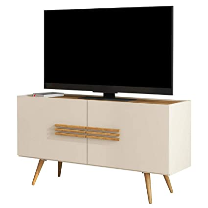 Amazon.com: Furnishinings Scandinavian Style TV Stand up to ...