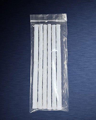Espero 1/2'' x 9'' - 24Pack Replacement Fiberglass Torch Wick or Oil Lamp Wick by Espero