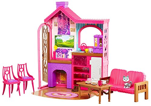 Review Barbie Camping Fun Cabin