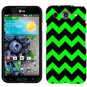 LG Optimus G PRO Chevron Green and Black Phone Case Cover