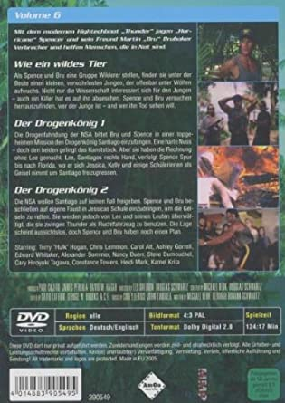 Thunder in Paradise: Heiße Fälle - Coole Drinks, Vol. 06 Alemania DVD: Amazon.es: Chris Lemmon, Carol Alt, Patrick Macnee, Felicity Waterman, Sam J. Jones, Charlotte Rae, Lisa Stahl, Cory Lerios, Chris Lemmon,
