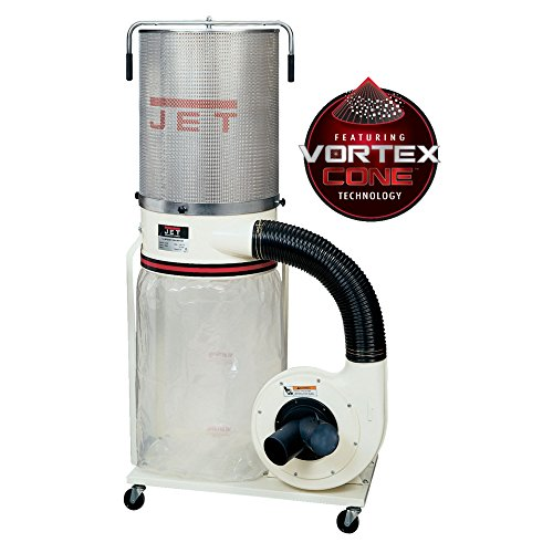 Jet DC-1200VX-CK1 Dust Collector 2HP 1PH 230-Volt 2-Micron Canister -