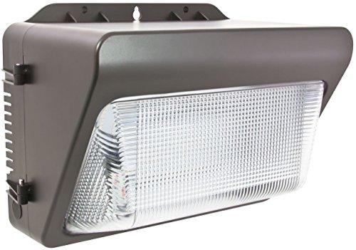 (American Lighting WP-PL1-30-DB Salt Air Wall Pack Light, 100-277V, C/UL, Wet Location, 3000 K, 35W, 2518 lm, Dark Bronze)