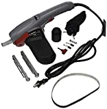 """Gino Development 01-0132 TruePower 3/8"""" x 18"""" and 1/2"""" x 18"""" Electric Belt Sander with Variable Speed Control"""