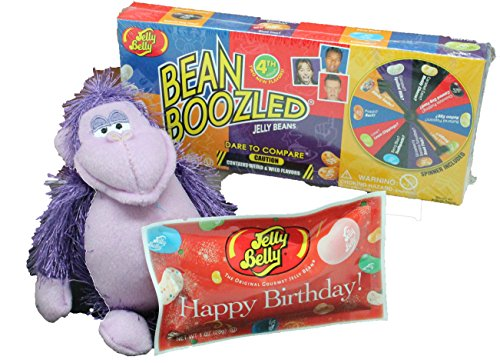 Gorilla Plush Birthday Gift For Kids - 3 Piece Plush Colorfu