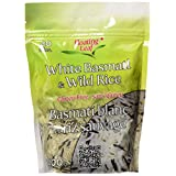Floating Leaf Wild Rice Products-Basmati White and Wild Rice, 400G