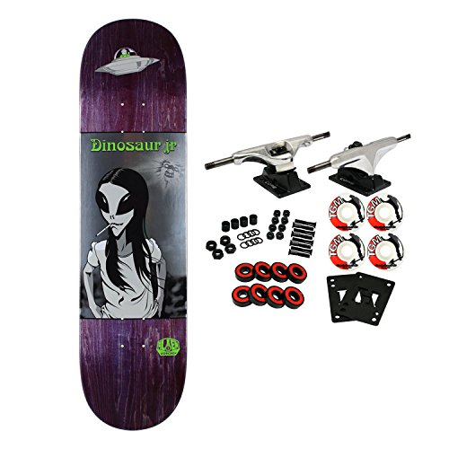 Alien Workshop Dinosaur (Alien Workshop Skateboard Complete Dinosaur Jr Green Dream (Assorted) 8.25