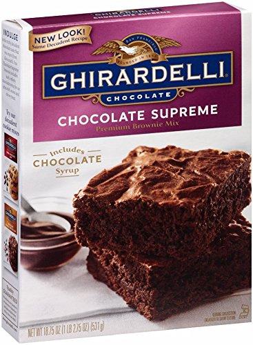 Ghirardelli Chocolate Supreme Brownie 18 75 Ounce