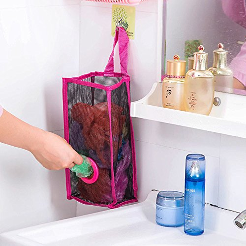 MAZIMARK--Breathable Mesh Hanging Kitchen Garbage Bag Storage Packing Pouch Shopping - Indiana Outlet Shopping