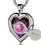 925 Sterling Silver Heart Pendant I Love You - Best Reviews Guide