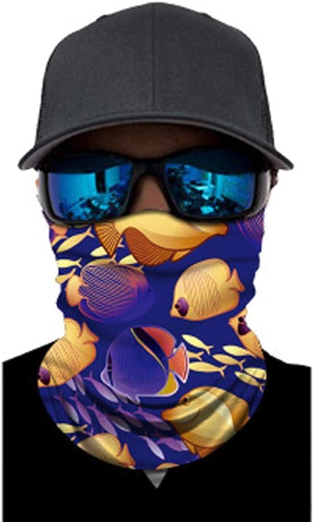 Ulanda-EU Hut Herren Damen Schlauchtuch Motorrad Halstuch Kopftuch Radfahren Face Shield Snowboard Multifunktionstuch Stirnband Winddicht Kopf Wrap Warm Neck Gaiter Bandana Funktionstuch