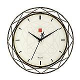 Cheap Bulova Frank Lloyd Wright Luxfer Prism Wall Clock, 14″, Bronze