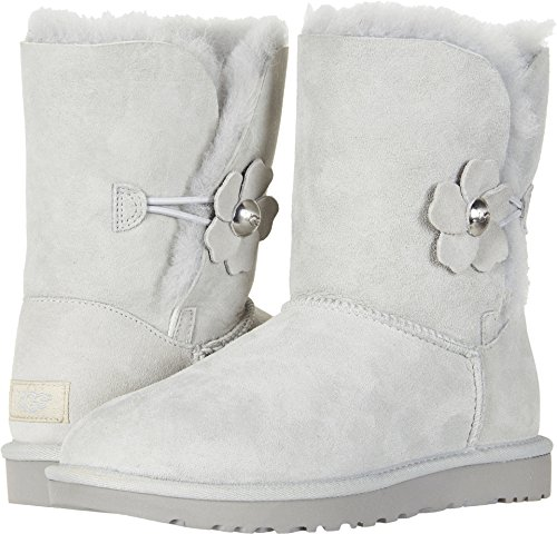 UGG Women's Bailey Button Poppy Boot, grey violet, 6 M US