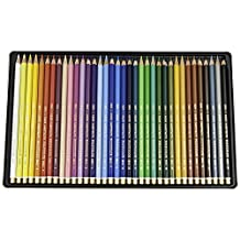 Koh-I-Noor Polycolor Drawing Pencil Set, 36 Assorted Colored Pencils in Tin, 1 Each (FA3819.36)