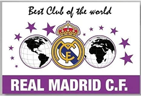 Bandera Grande Best of Club of The World Real Madrid: Amazon.es ...