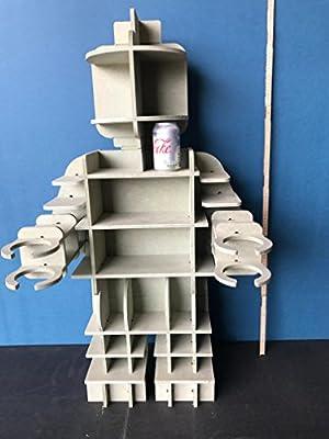 Estantería para coleccionistas Lego – Pinta tu propio estilo: Amazon.es: Hogar