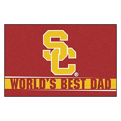 Fanmats 18214:Southern California Worlds Best Dad Starter Rug ()