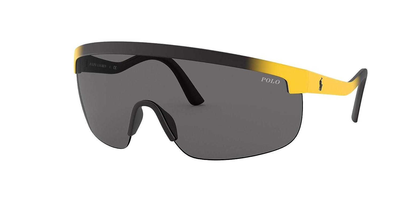 Ralph Lauren Polo gafas de sol PH4156 581687 negro, gris tamaño de ...