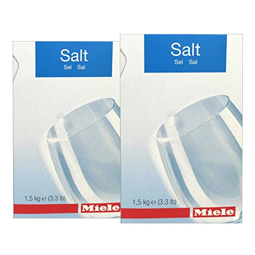 2 PACK - Miele Care Collection Dishwasher Reactivation Salt (Machine Salt)