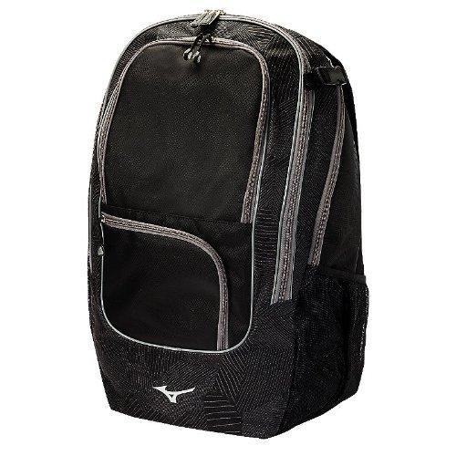 Mizuno Super Field Backpack, 21 x 11 x 9-Inch, Black [並行輸入品] B07R4VP2PS