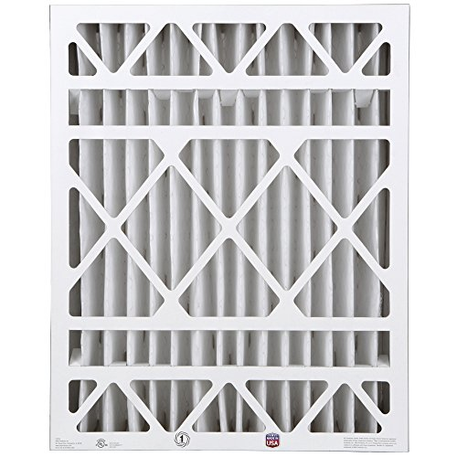 "BestAir HW2025-8R Furnace Filter, 20"" x 25"" x 4"", Honeywell Replacement, MERV 8, 3 pack"