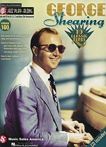 George Shearing - Jazz Play-Along Volume 160 (CD/Pkg)