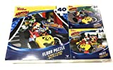 Mickey And The Roadster Racers Puzzle - Great Gift For Kids - 3 Puzzles Inside