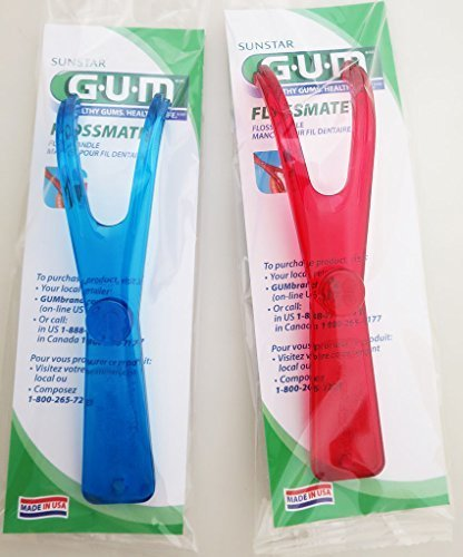 GUM Flossmate Handle #845 - Pack Of 3