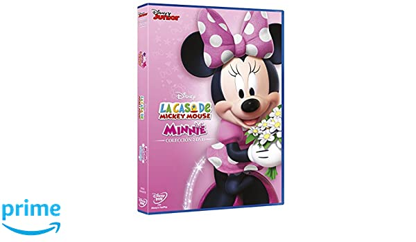 Pack La Casa De Mickey Mouse: Minnie Y Su Desfile De Lazos De Invierno Volumen 31 + Minnie Pop Star Volumen 32 DVD: Amazon.es: Personajes animados, ...