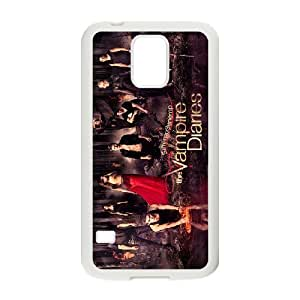 JamesBagg Phone case The Vampire Diariesseries pattern case cover For Samsung Galaxy S5 TVD-VAMPIRE0107