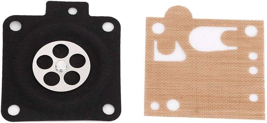 Rockyin Reparaci/ón del carburador Carb Kit de juntas adapta for STIHL MS380 MS381 038