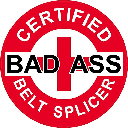 Bad Ass Belts - 3 - Red Certified Bad Ass Belt Splicer 2