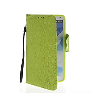 SHOPPINGBOX Flip Cover Stand Leather Wallet Card Pouch Etui Case For Samsung Galaxy Note 3 N9000 Green