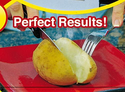 Bolsa microondas para asar patatas en 4 min mazorcas de maíz, pan ...