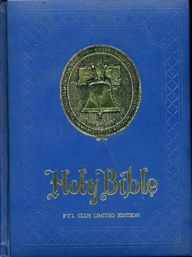 Holy Bible PTL Club Limited Edition Containing Both the Old and New Testaments Red Letter Reference Edition King James (Ptl Club)