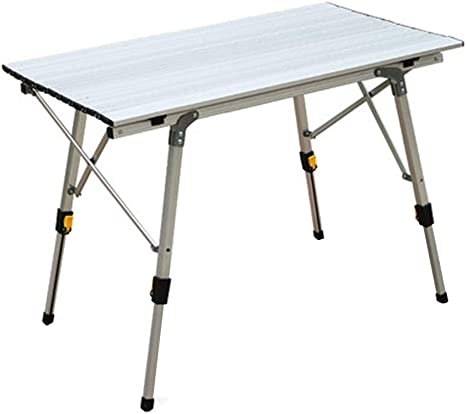 Lightweight Portable Aluminum Folding Table Camping Outdoor Picnic BBQ Party