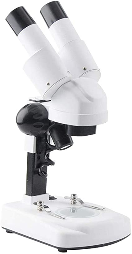 YUIOLIL Microscopio Binocular para Estudiantes, Vidrio óptico de ...