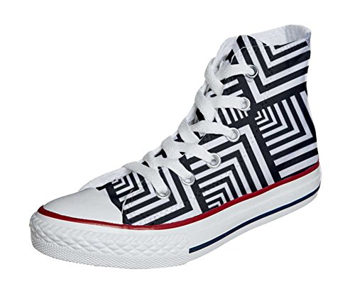 Converse All Star Customized - zapatos personalizados (Producto Artesano) Geometric