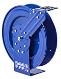Coxreels P-LPL-350 Low Pressure Retractable Air/Water/Oil Hose Reel: 3/8'' I.D., 50' Hose Capacity, without Hose, 300 PSI, Made in USA